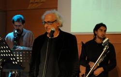 con Stefano Benni - casa del jazz