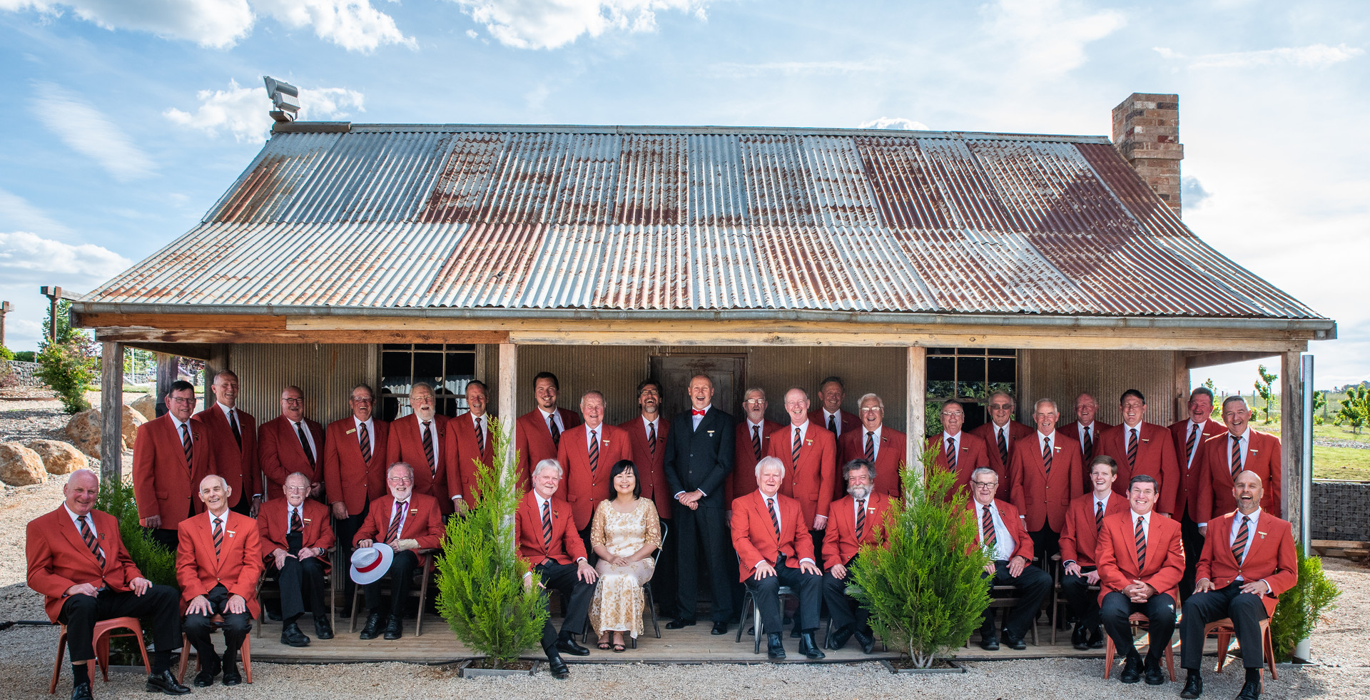 The Choir at Phillip Shaw's Winery