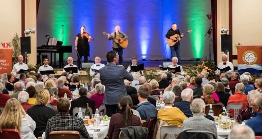 Eric, Paul and Choir, Nov 2019