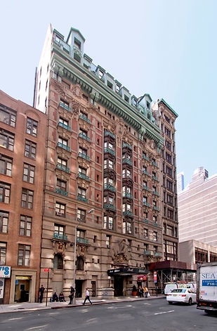The Wolcott Hotel building
