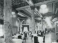 Wolcott Hotel's dining room