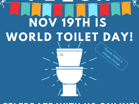 Celebrate World Toilet Day (and beyond) Online!