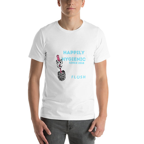 Happily Hygienic Short-Sleeve Unisex T-Shirt