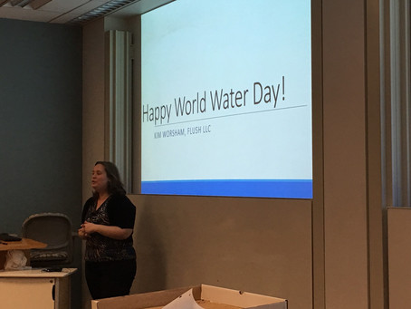 Happy World Water Day, NYU!