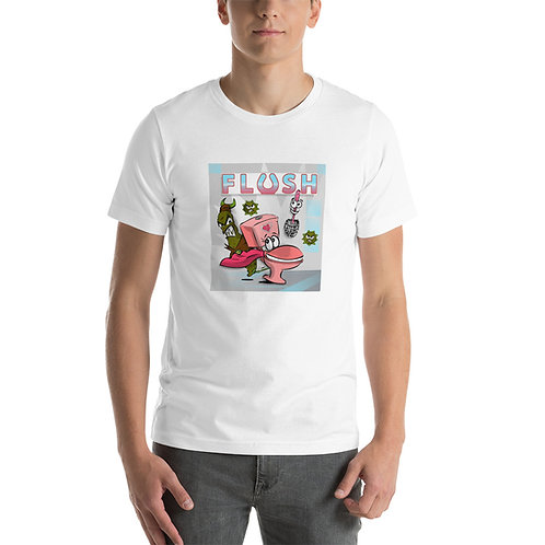 FLUSH Cartoon Cast Short-Sleeve Unisex T-Shirt