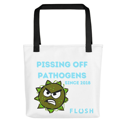 Pissing off Pathogens Tote bag