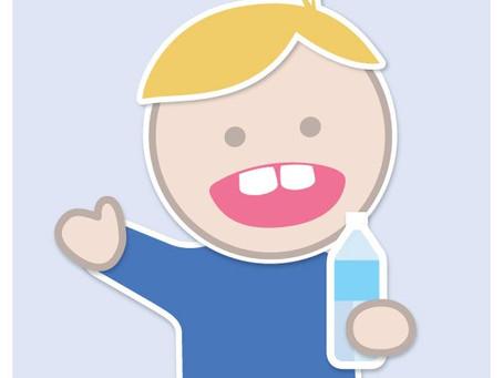 Boy Drinking Water