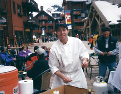 Chef at the Thunderbowl Market-Cafe