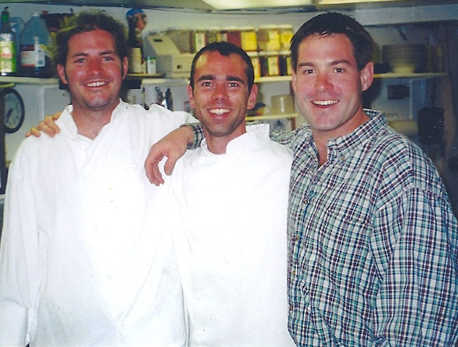 Sous Chef Bryan Nelson in 1999