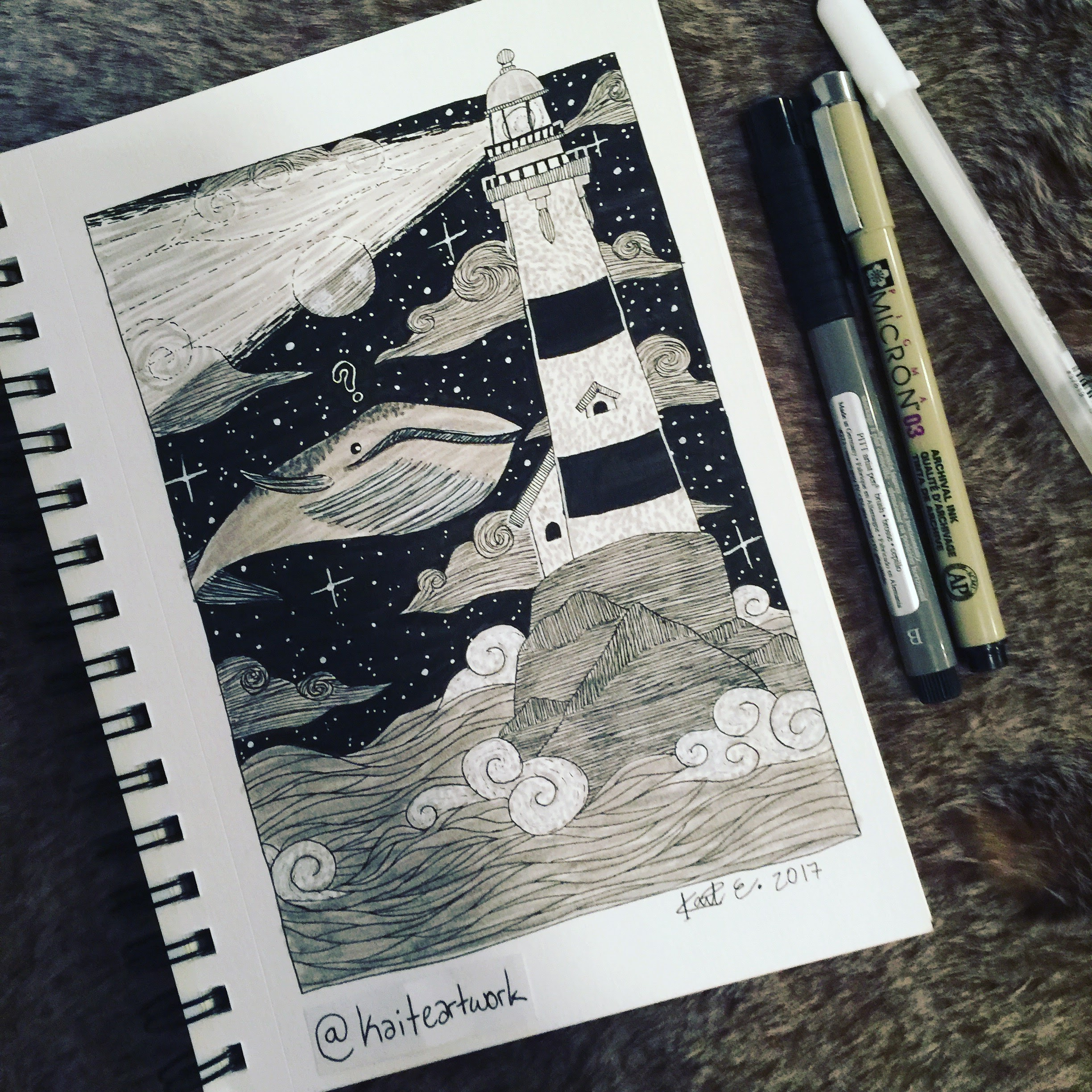 Day 8: The Whale