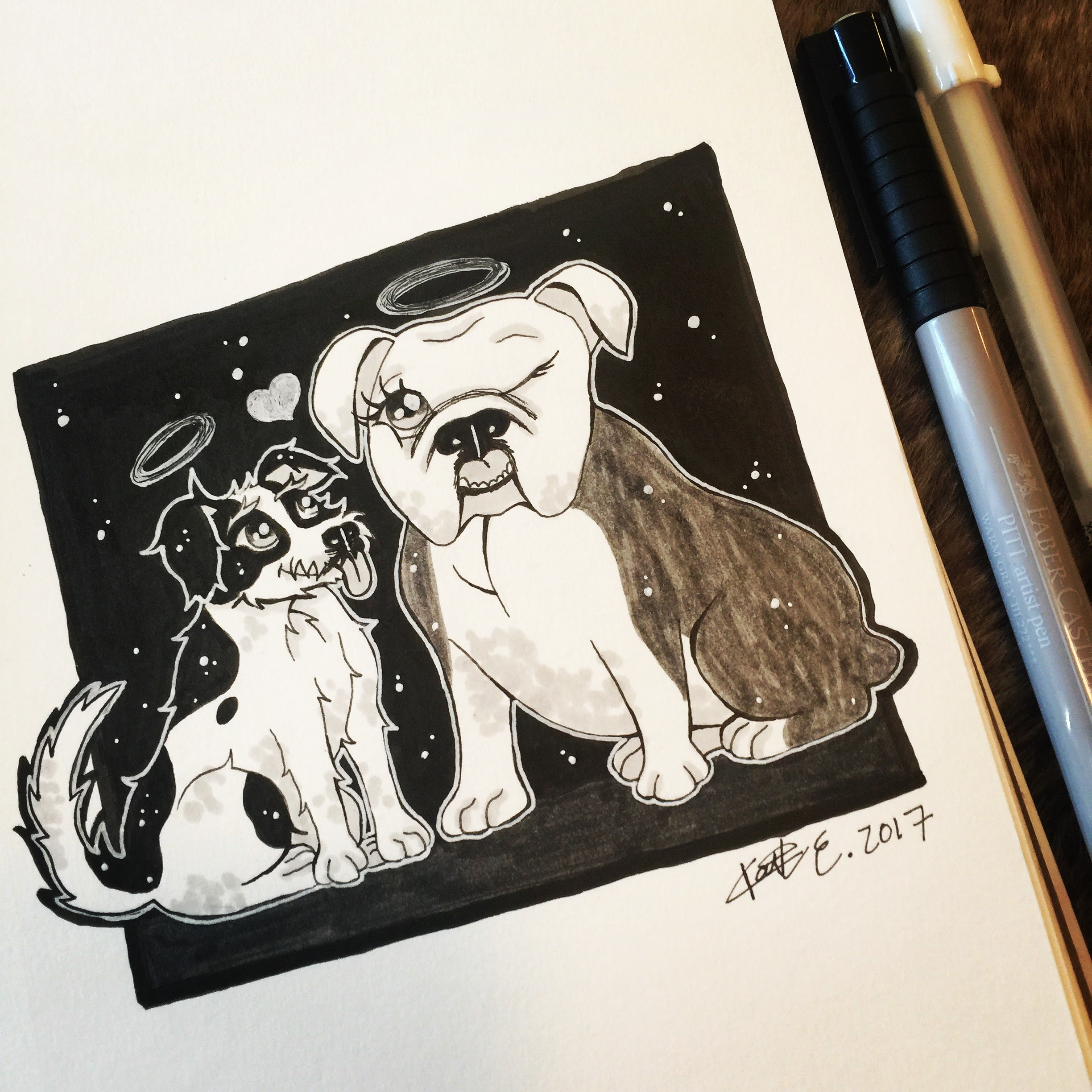 Day 25: Bucky and Bitsy