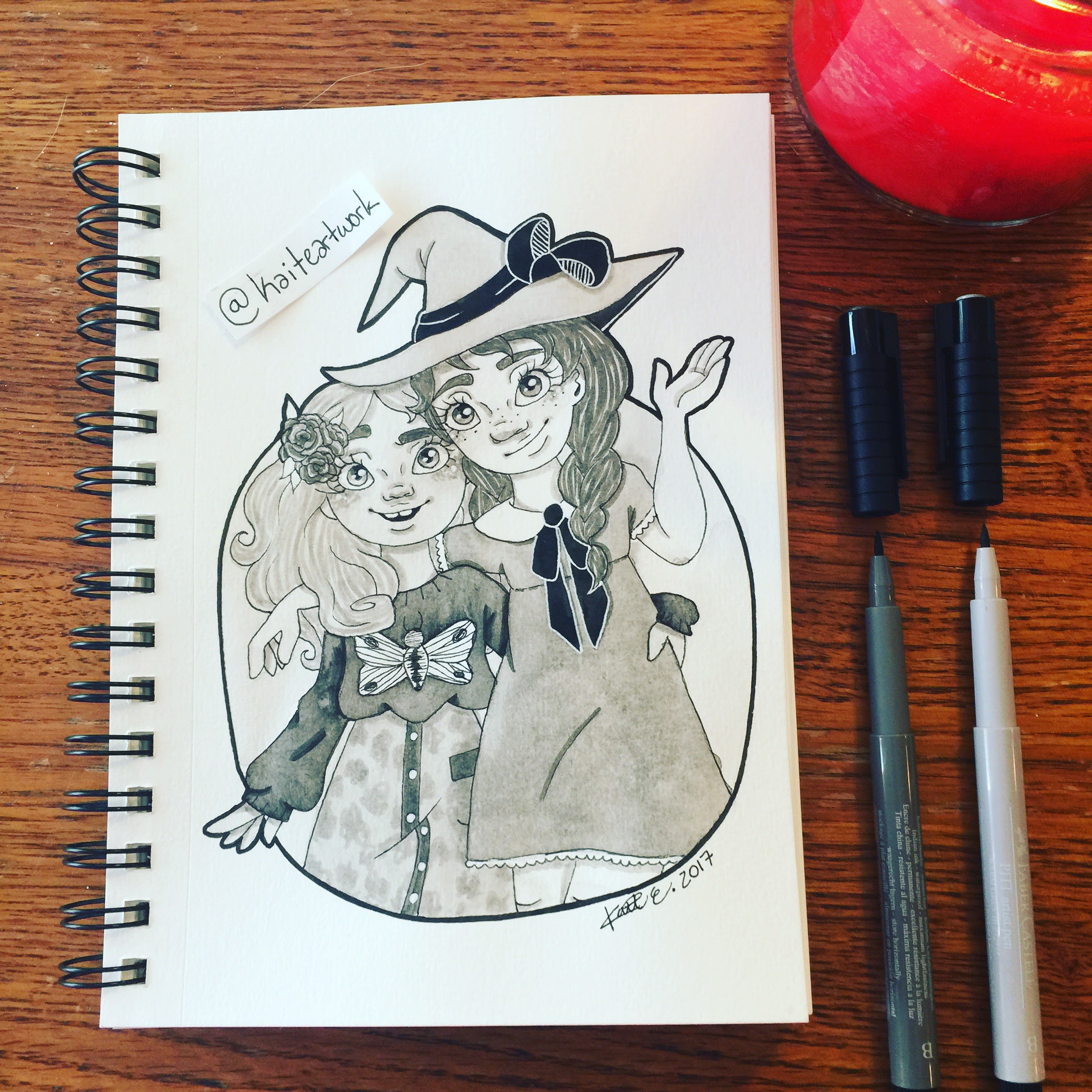 Day 7: Penelope and Charlotte