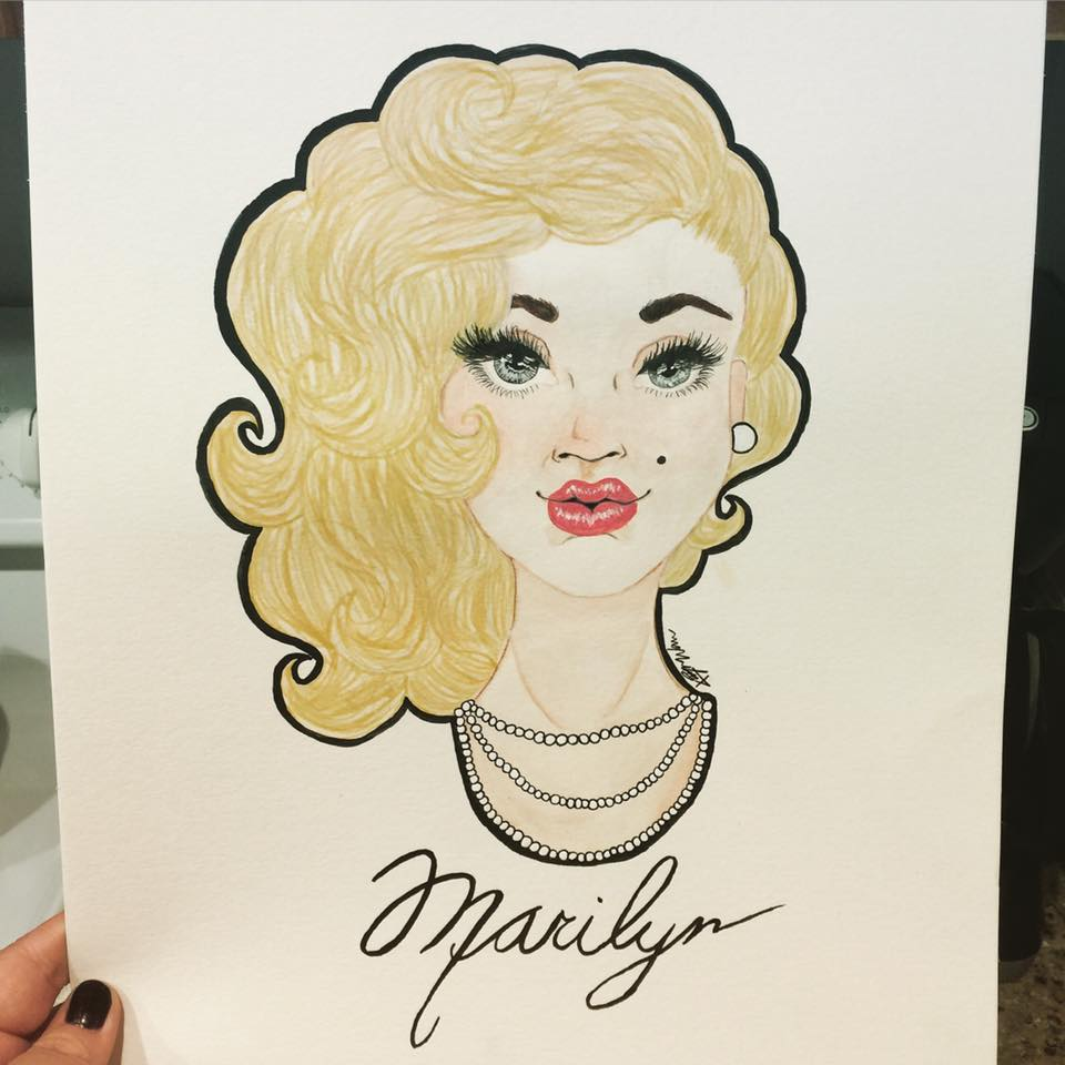 Marilyn Monroe commission
