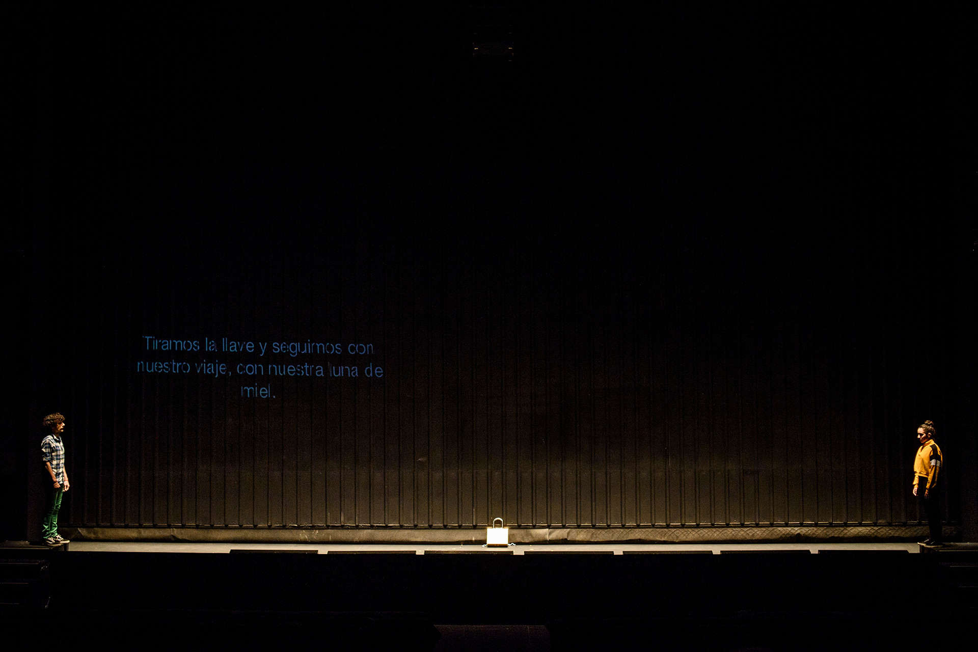 Garage - Marta Pazos director, set designer and costume designer