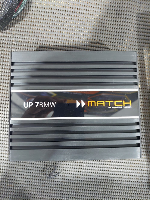 Match UP 7BMW DSP Amplifier