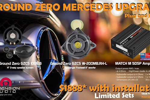 GROUD ZERO Mercedes Package