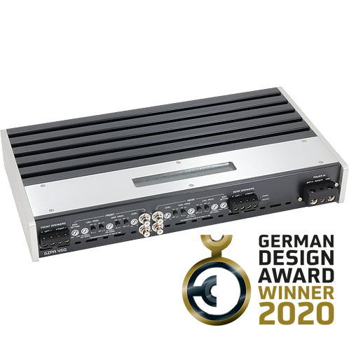 Ground Zero GZPA 4SQ 4-channel High Performance SQ amplifier