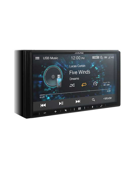 "Alpine iLX-W650E 7"" Media Player"