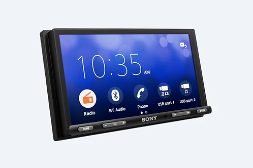"SONY XAV-AX5500  6.95"" Bluetooth® Media Receiver with WebLink™️ Cast"