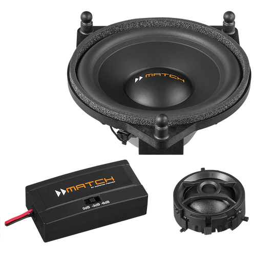 "MATCH UP C42MB-FRT 4"" Component Speaker - Mercedes"