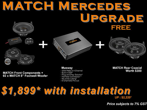 MATCH Mercedes Package