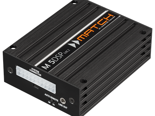 MATCH M 5DSP MK2, 5 Channel DSP Amplifier