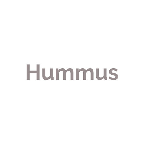 Hummus  vegan