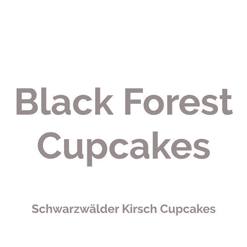 Black Forest Cupcake | vegan