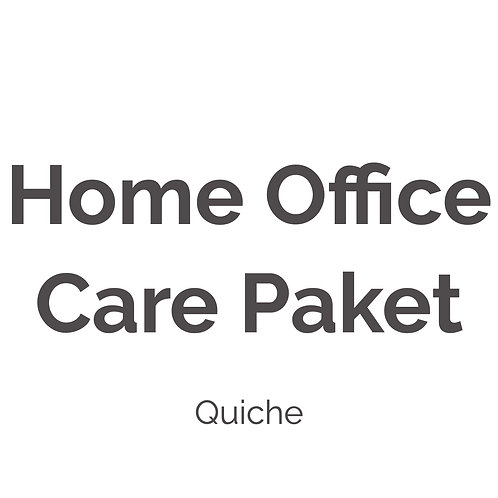 Home Office Care Paket |Quiche