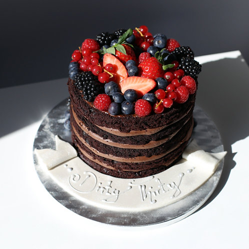 Berry Cake |vegan