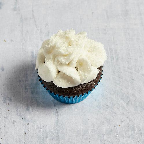 Schokoladen Cupcake mit Kokos-Frosting |vegan