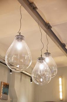 Handgeblasene Lampen