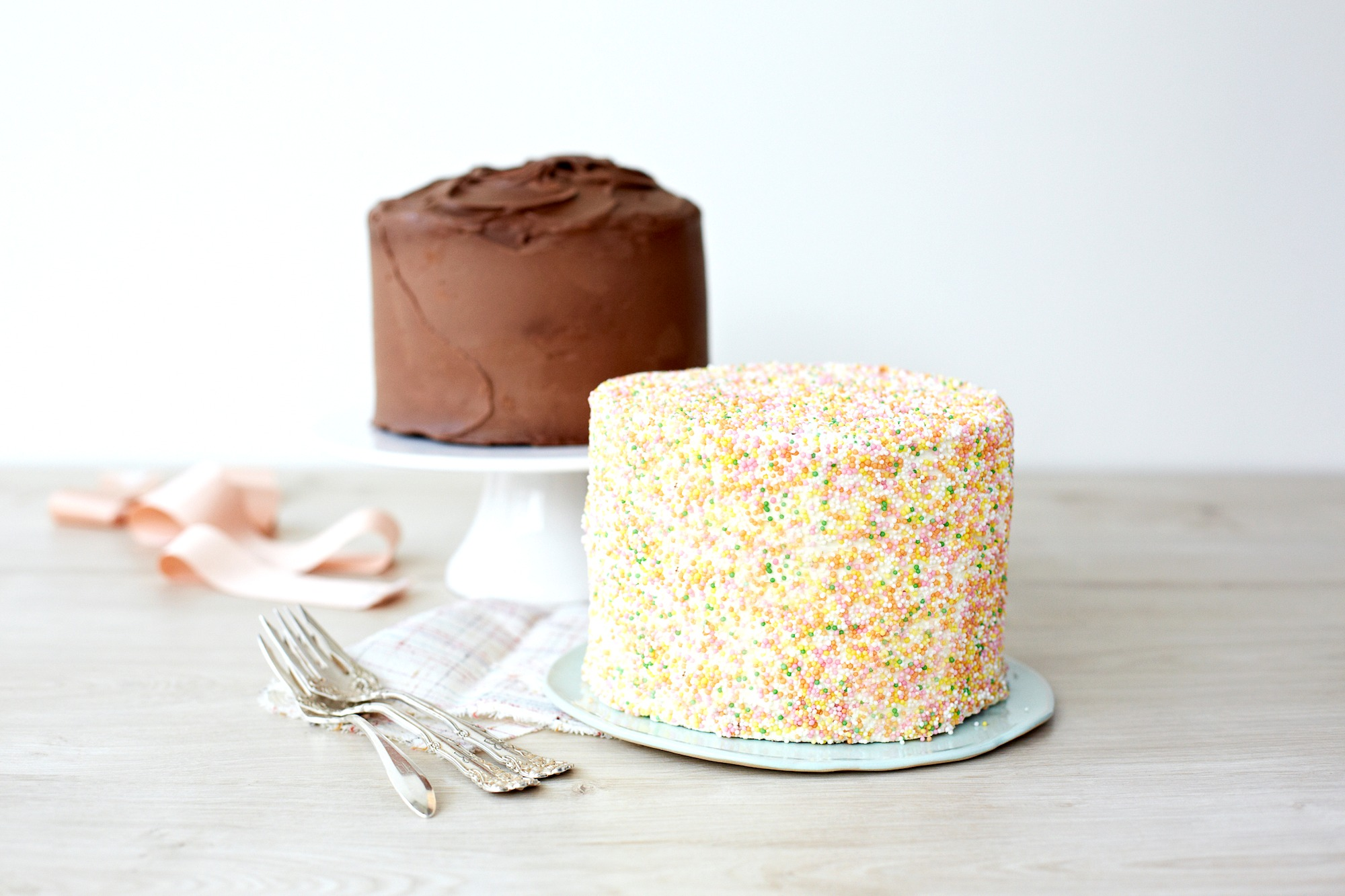 Beide 15cm Kuchen