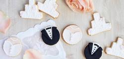 Verlobungs- & Hochzeitscookies