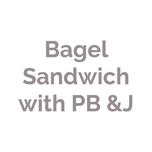 Sandwich mit Erdnussbutter & Marmelade