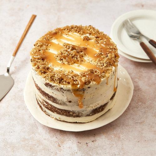 Apple Walnut Caramel Cake  Klein