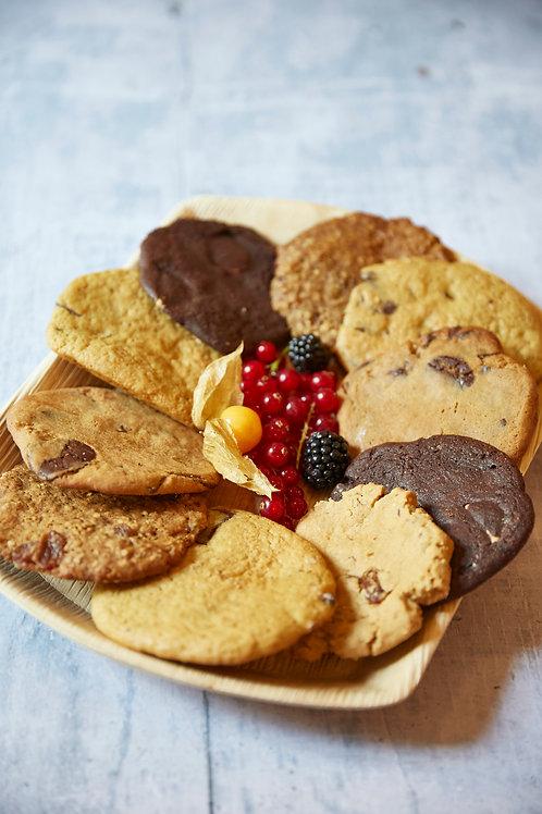 Gemischte Cookie Platte
