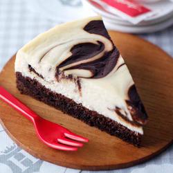 Brownie Marble Cheesecake
