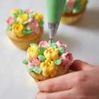 Handgemachte Cupcakes