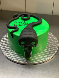 Billie Eilish Cake