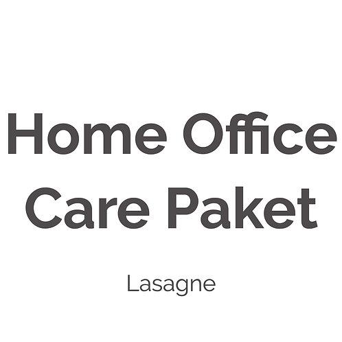 Home Office Care Paket |Lasagne