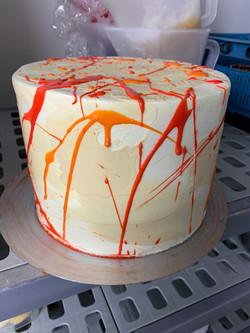 Torte im Abstrakten Design