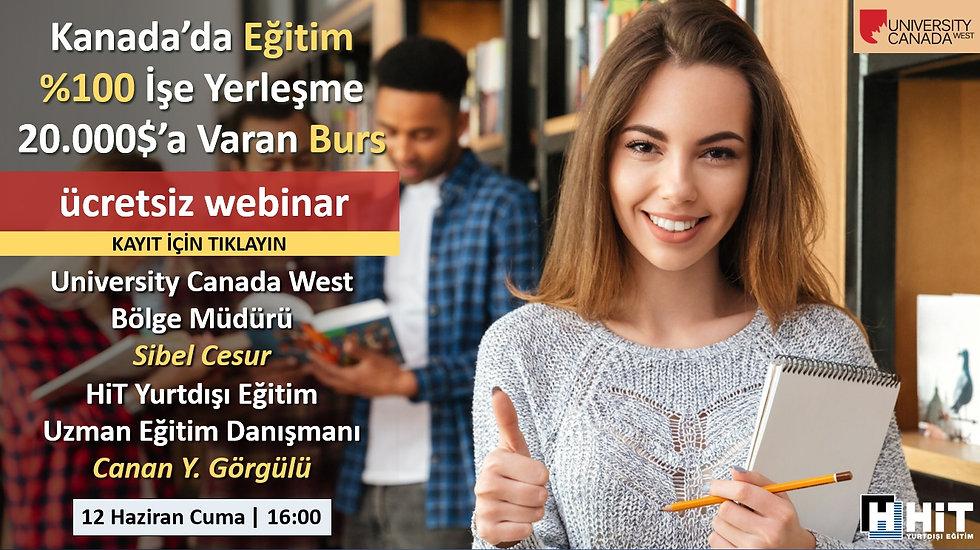 Kanada Üniversiteleri Webinar, Yurtdışı Eğitim