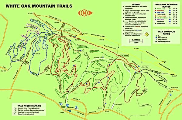 White Oak Mountain