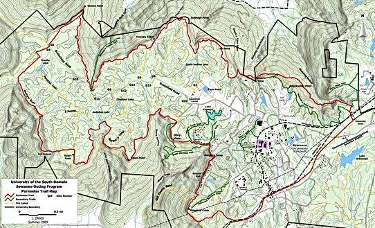 Perimeter Trail Sewanee