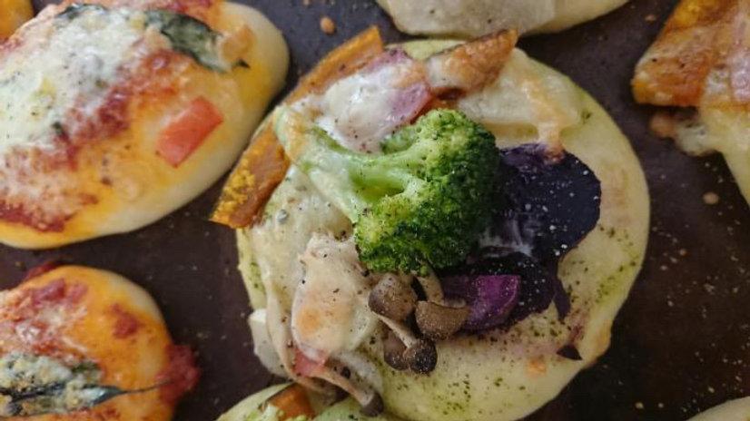 季節野菜のフォカッチャ
