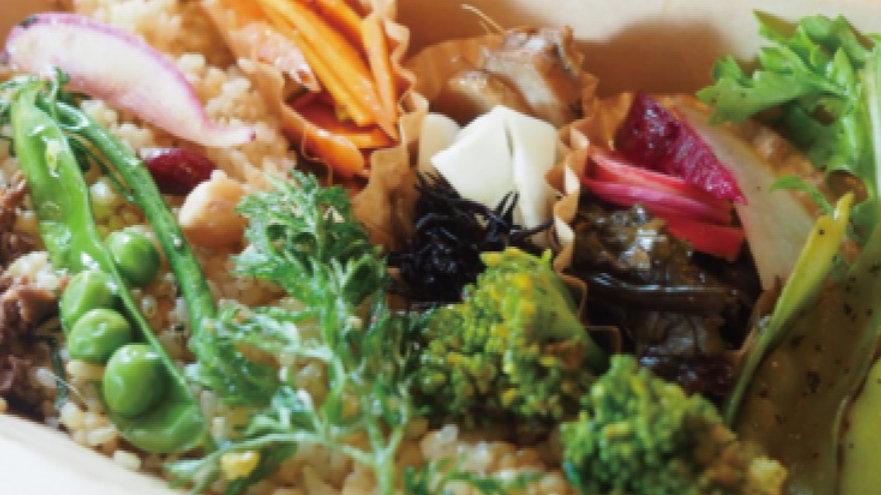 野菜ぎゅうぎゅう玄米BENTO