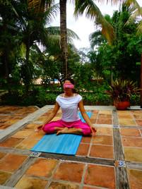 Yoga sin ver