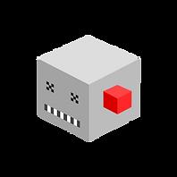 Cube monstro cinza