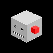 Grey Monster Cube